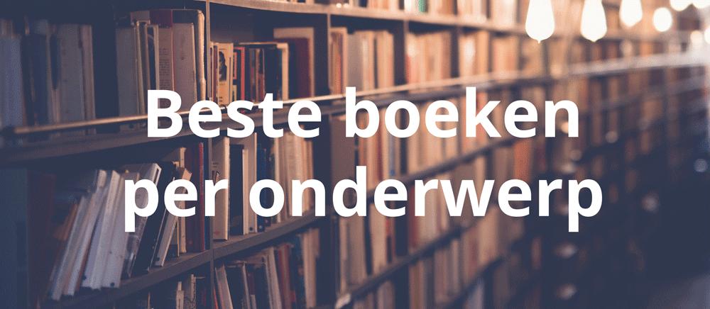 beste boeken per onderwerp
