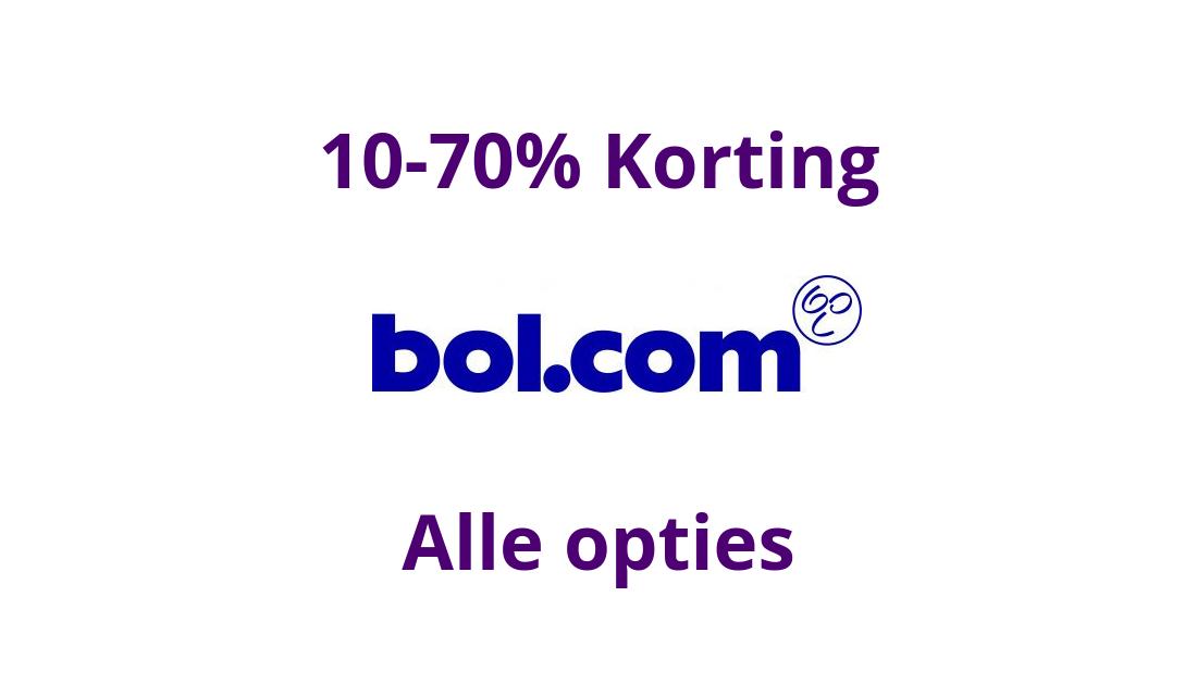 Bol.com Kortingscode / Actiecode: 10-70% Korting
