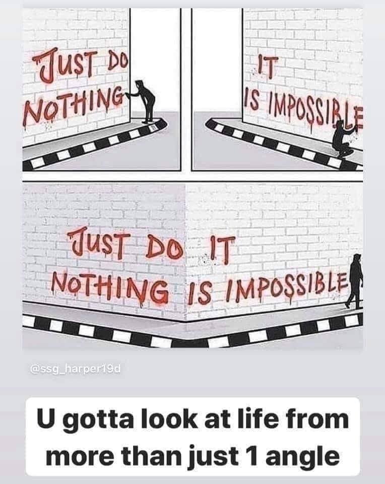omdenken vanuit een ander perspectief