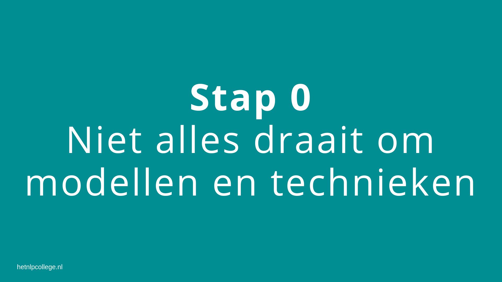 stap 0
