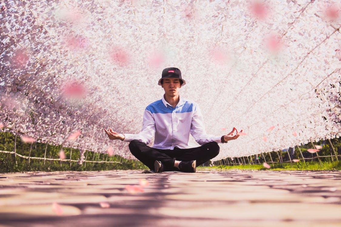 natuur zintuiglijke meditatie