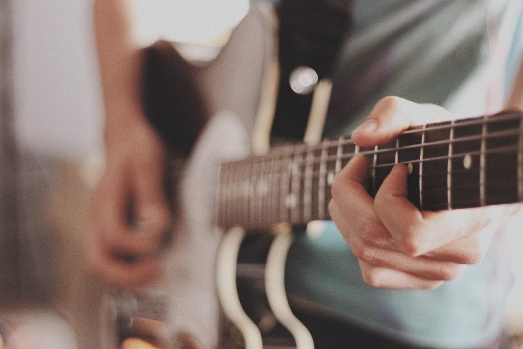 gitaar spelen hobby