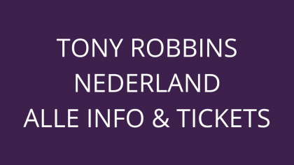 Tony Robbins Nederland tickets
