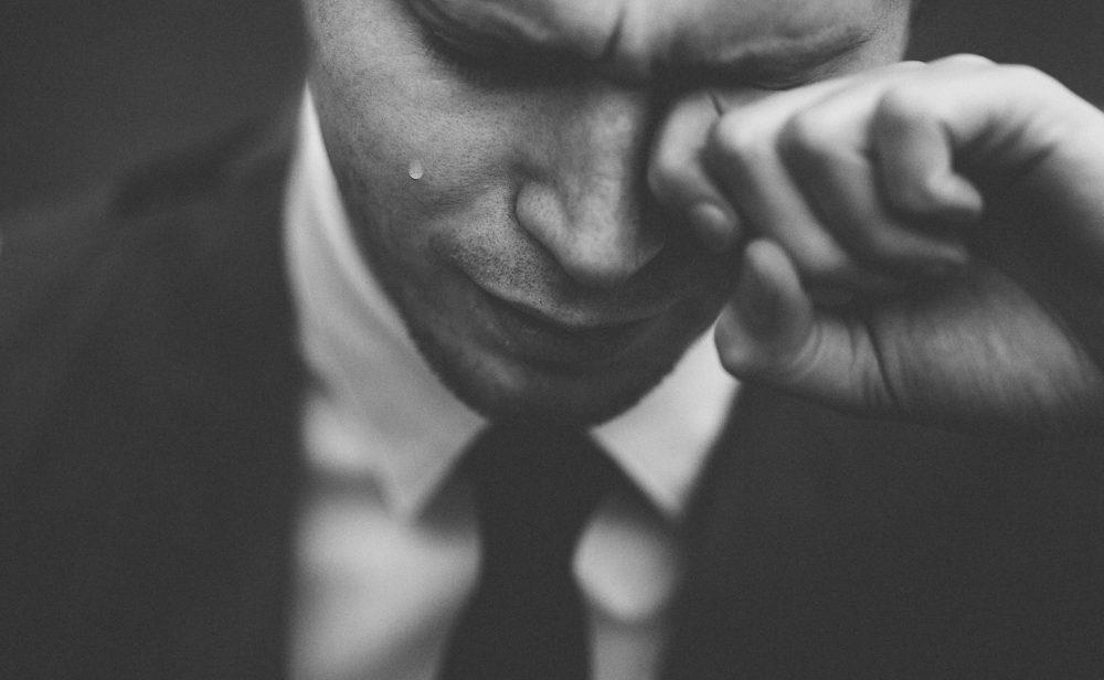 depressie laat de tranen stromen