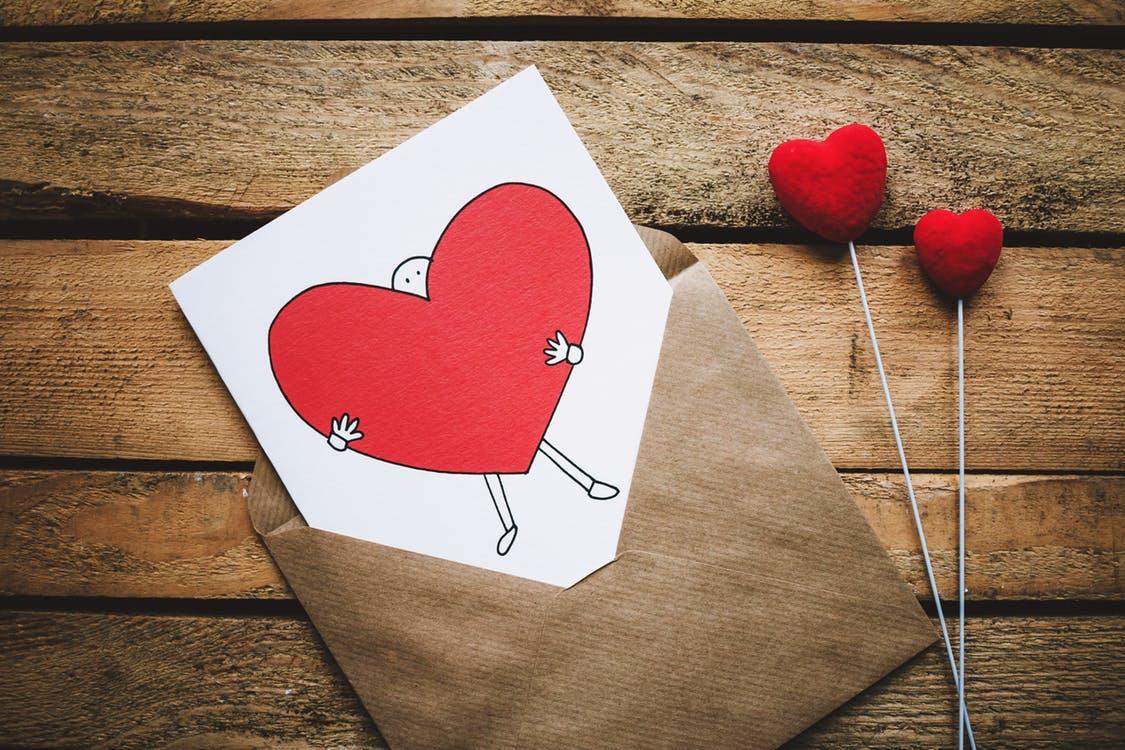 liefde dagkaart trekken
