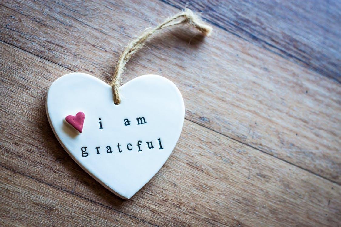 dankbaarheid bij problemen