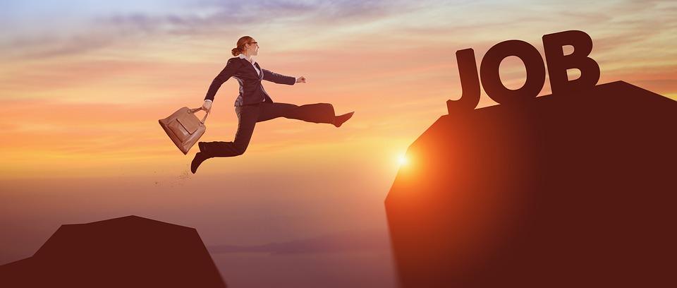 springen mindfulness op het werk