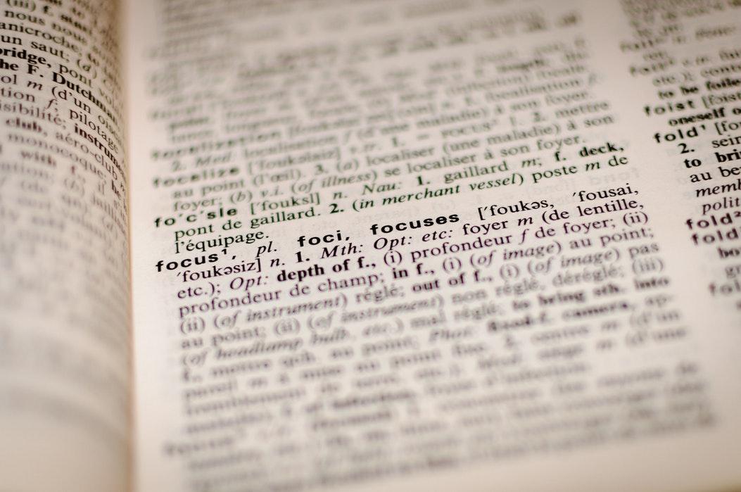 NLP Termen / Begrippen / Jargon [Lijst Met Betekenissen]