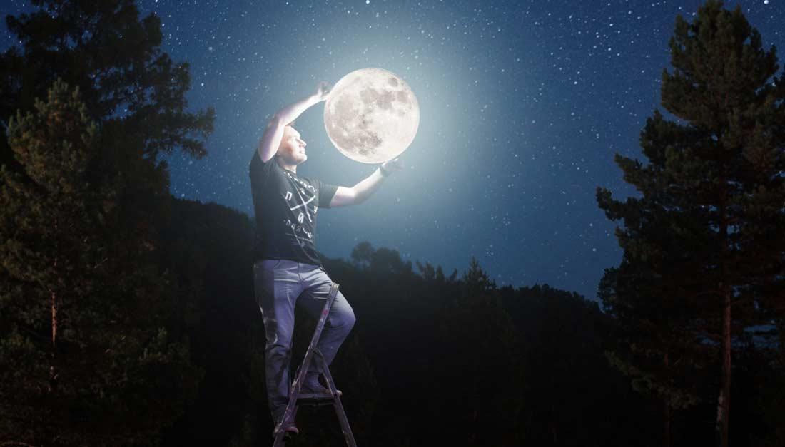 'Wijzen Naar De Maan': Daden Zeggen Meer Dan Woorden [Geen Woorden Maar Daden!]