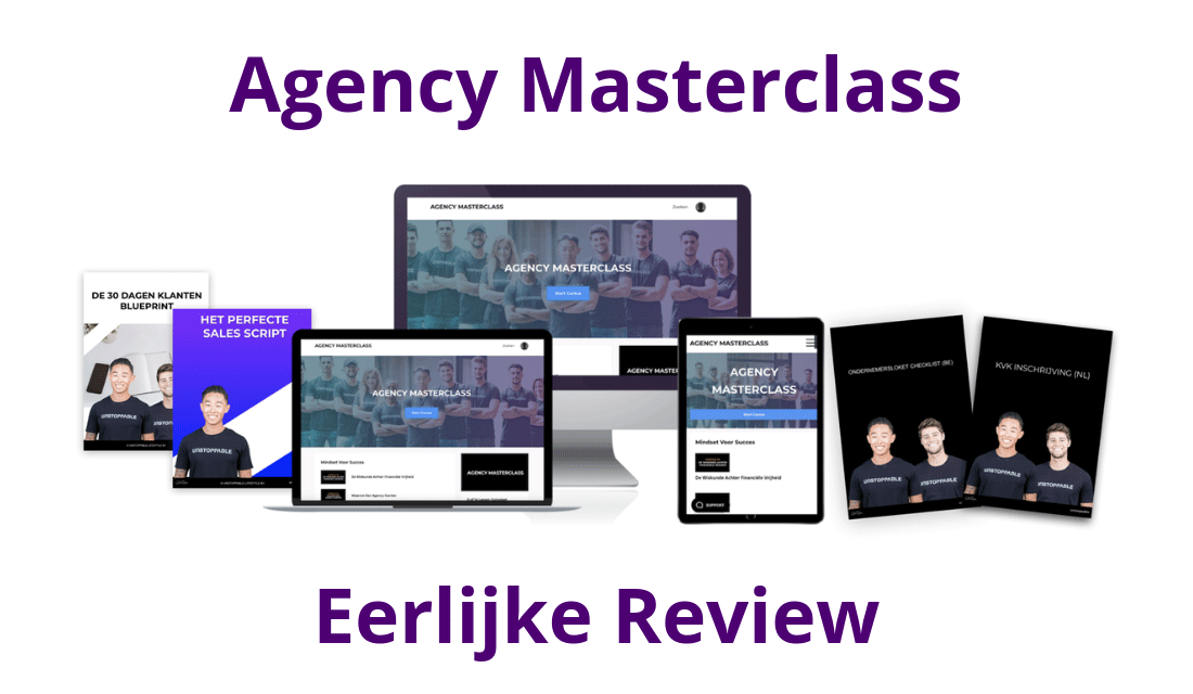 [Scam?] Agency Masterclass Mitchell Weijerman Review/Ervaringen
