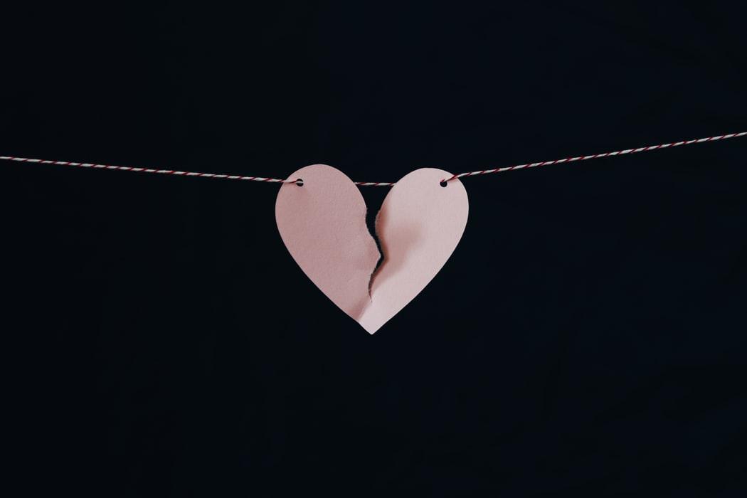 teleurgesteld in liefde