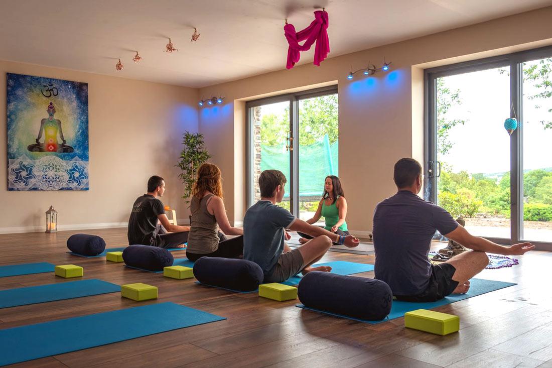yoga linnen broek heren