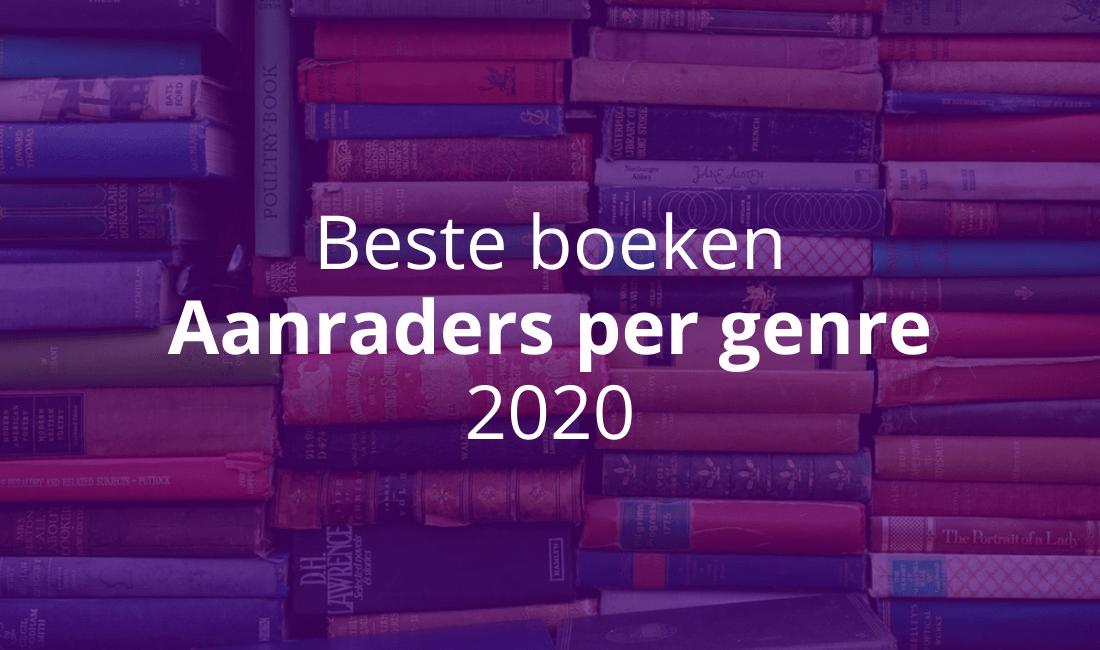 Beste boeken 2020 lijsten