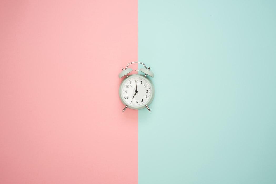 niet meer tijd verspillen