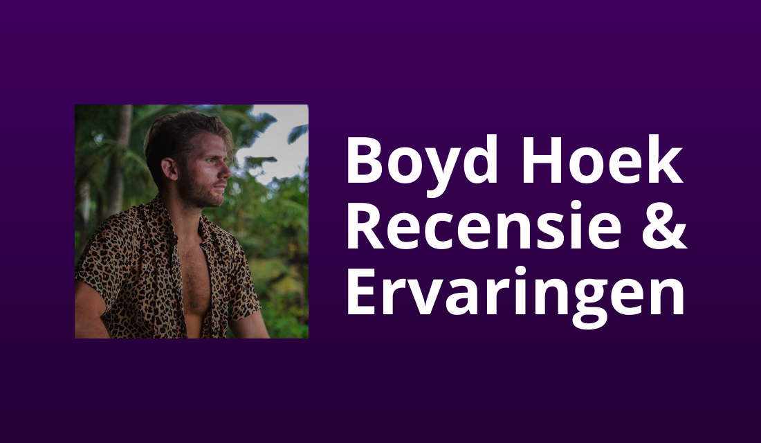 [Scam?] Boyd Hoek SMMB Masterclass Review: Top-training?