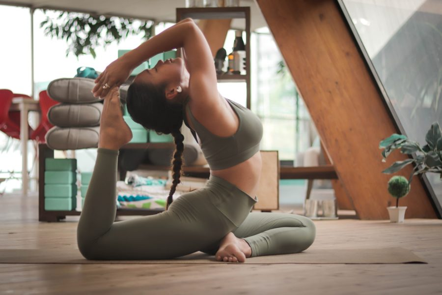 thuis yoga les online