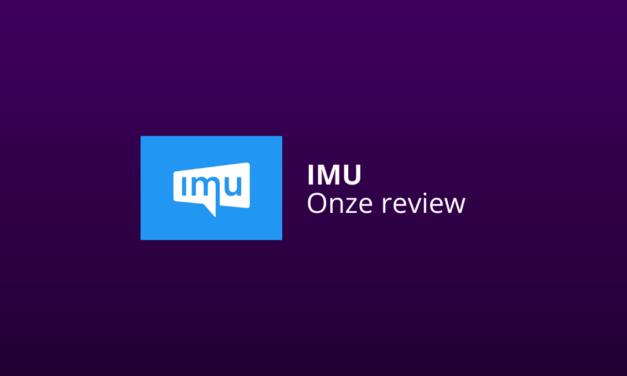 IMU Review & Onze Ervaringen [Internet Marketing Unie]