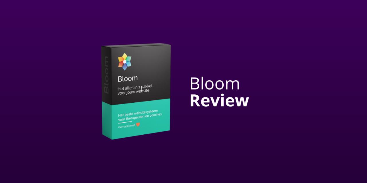Bloom Ervaringen: Beste Website-Tool Voor Therapeuten & Coaches? [Review]