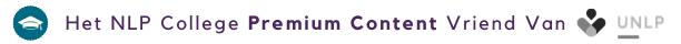 Het NLP College Premium Content Vriend van UNLP - Logo