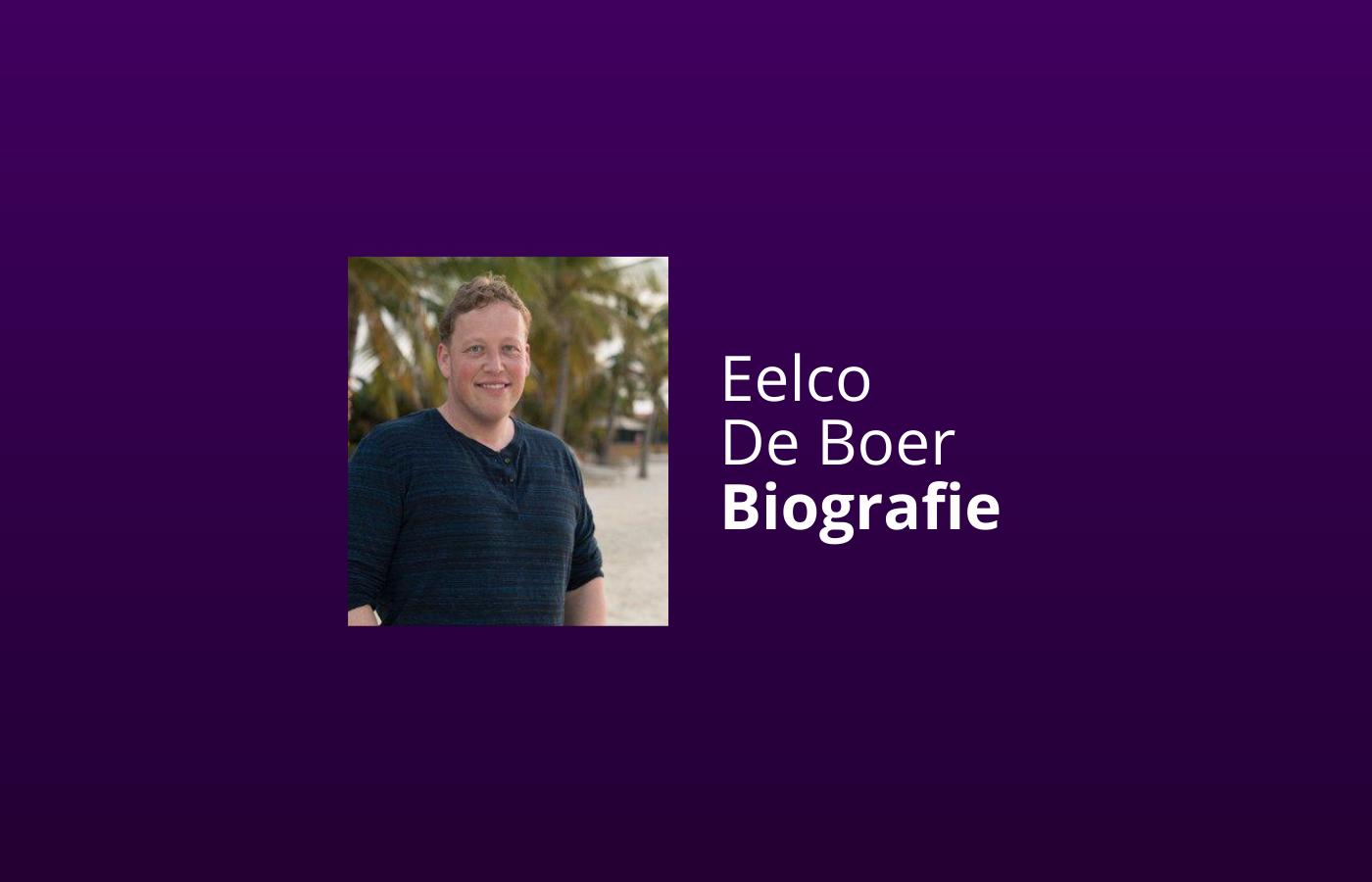eelco de boer wiki