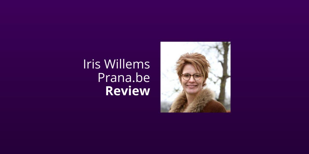 Prana.be Van Iris Willems [Review & Ervaringen] [2021]