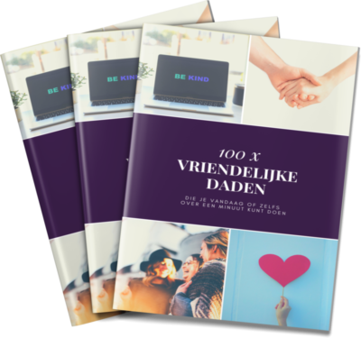 100 x vriendelijke daden e-boek