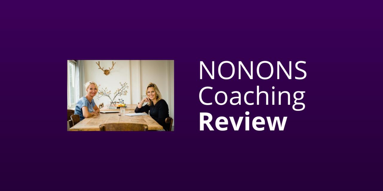 Review: NONONS Coachingsopleidingen & -Tools [Ervaringen 2021]