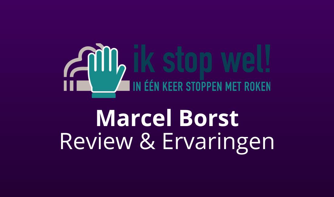 ik stop wel marcel borst review